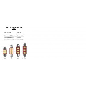 8 pzs set Canbus festoon bulb DC 12V 24V c5w 31MM 36MM 39MM 41MM w5w T10 led car interior light