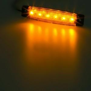 10X Amber  LED Sides Marker Indicator Lights Car Truck Trailer Ship