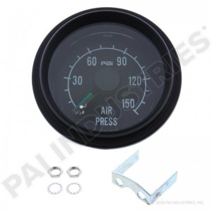 Mechanical Dual Air Pressure Gauge. PAI FGG-0500  Mack 7MT320RP2, 25166143