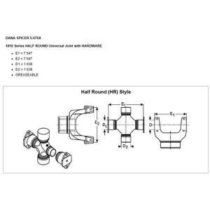 U-Joint  HDValue HD5676X