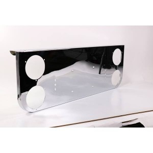 POWER PRODUCTS Chrome Light Panel For 4in Round Lights CLP40