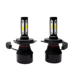 set 2 pcs S4 H4 For Auto Parts 4 Sides LED Car Headlights From UGGV