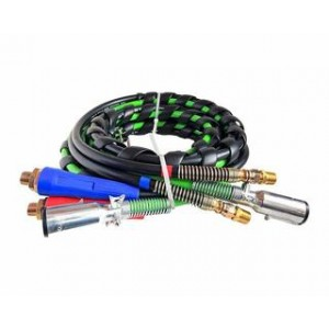 TR-029, GT-3320, 3-in-One Rubber Air Hose Electrical Cable Wrap 15' Air Line Hose