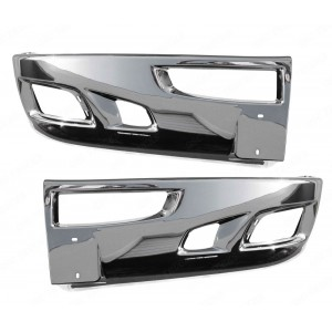 KENWORTH T660 BUMPER CHROME WITH HOLES COMPLETE