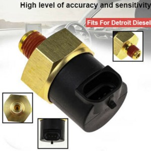 Engine Oil Pressure Sensor Fits For Detroit Diesel Genuine High Quality 23532797